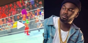 """""""Wrestling is fake sha"""" – Slimcase finally discovers the scope behind wrestling sport, shares evidence (Video)"""